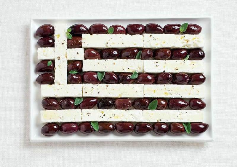 greece olives and feta