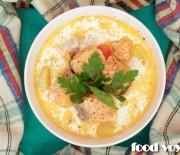 Финский сливочный суп с лососем, Лохикейтто