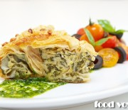 Средиземноморский  пирог из теста Фило