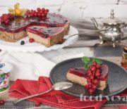 Шоколадный Чизкейк с ягодным желе
