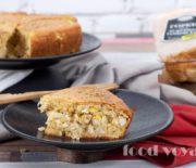 Сметанный Пирог  с бужениной и рисом